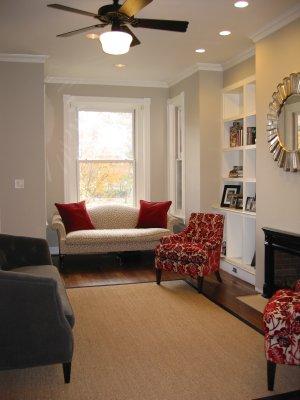 Room Color Scheme: Benjamin Moore Revere Pewter HC 172