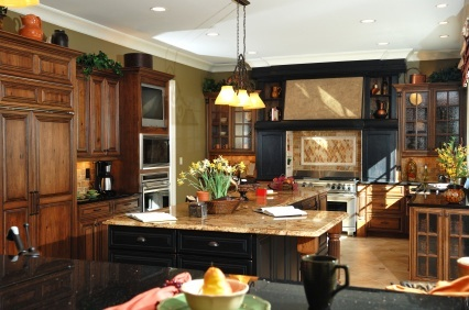 kitchen wall colors with dark brown cabinets how to paint kitchen cabinets with a diy lift 22158